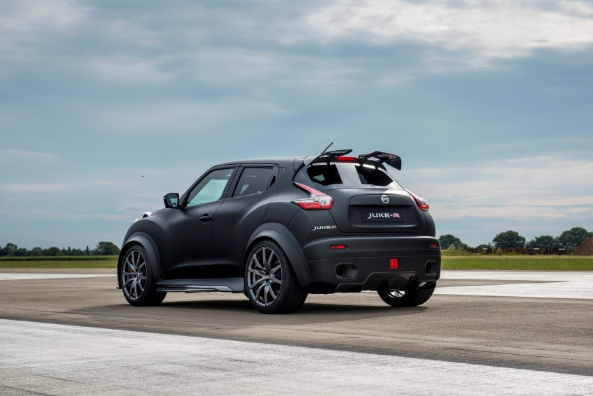 Nissan Juke-R 2.0 concept gets rebooted with 600 hp! Image #354353