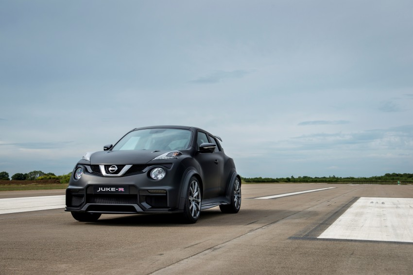 Nissan Juke-R 2.0 concept gets rebooted with 600 hp! Image #354355