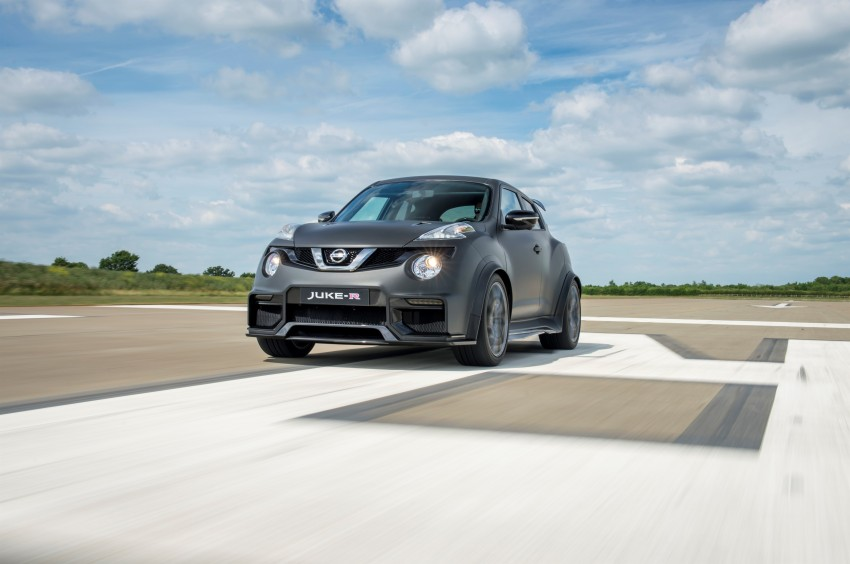 Nissan Juke-R 2.0 concept gets rebooted with 600 hp! Image #354357