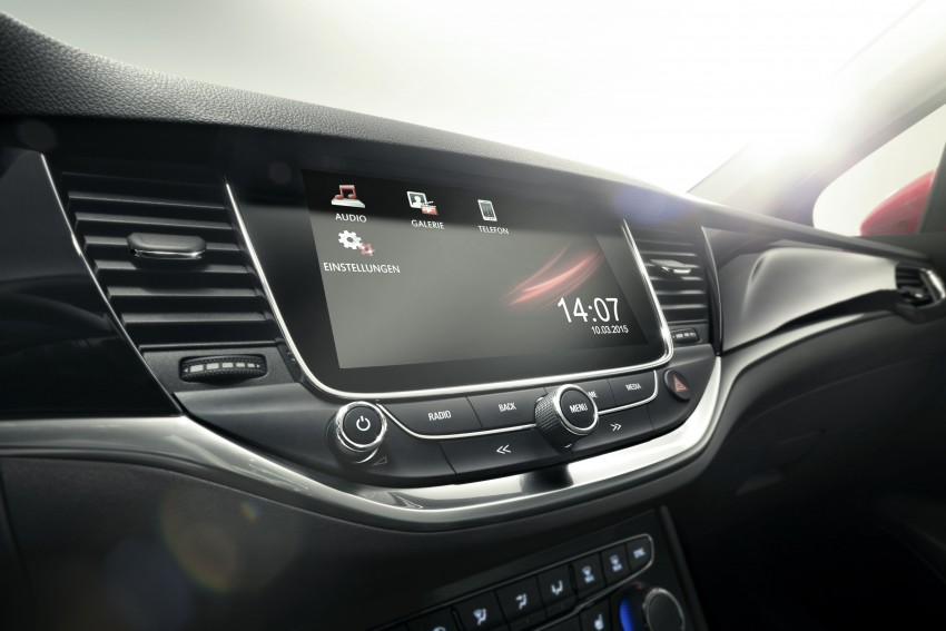 Opel/Vauxhall Astra K unveiled – up to 200 kg lighter Image #345279