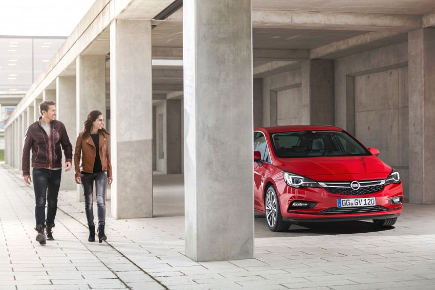Opel/Vauxhall Astra K unveiled – up to 200 kg lighter Image #345280