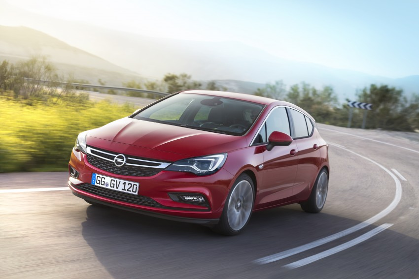 Opel/Vauxhall Astra K unveiled – up to 200 kg lighter Image #345282