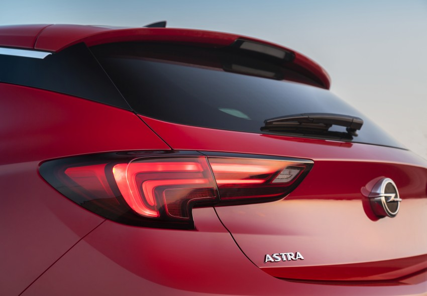 Opel/Vauxhall Astra K unveiled – up to 200 kg lighter Image #345285