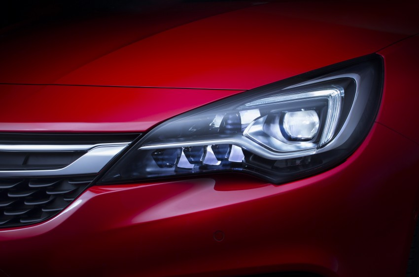 Opel/Vauxhall Astra K unveiled – up to 200 kg lighter Image #345286