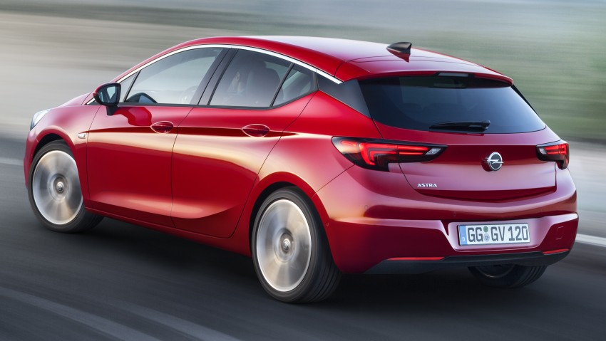 Opel/Vauxhall Astra K unveiled – up to 200 kg lighter Image #345288