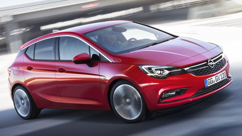 Opel/Vauxhall Astra K unveiled – up to 200 kg lighter Image #345289