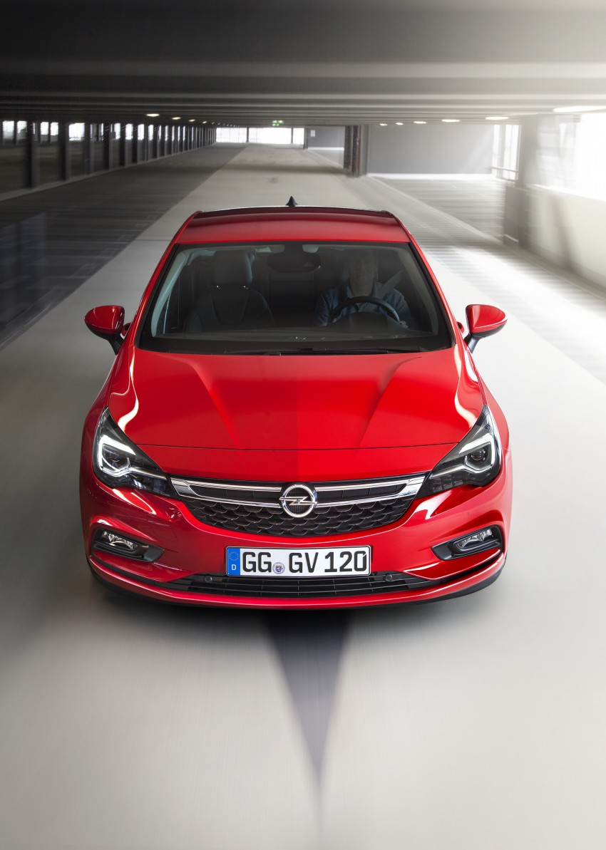 Opel/Vauxhall Astra K unveiled – up to 200 kg lighter Image #345290