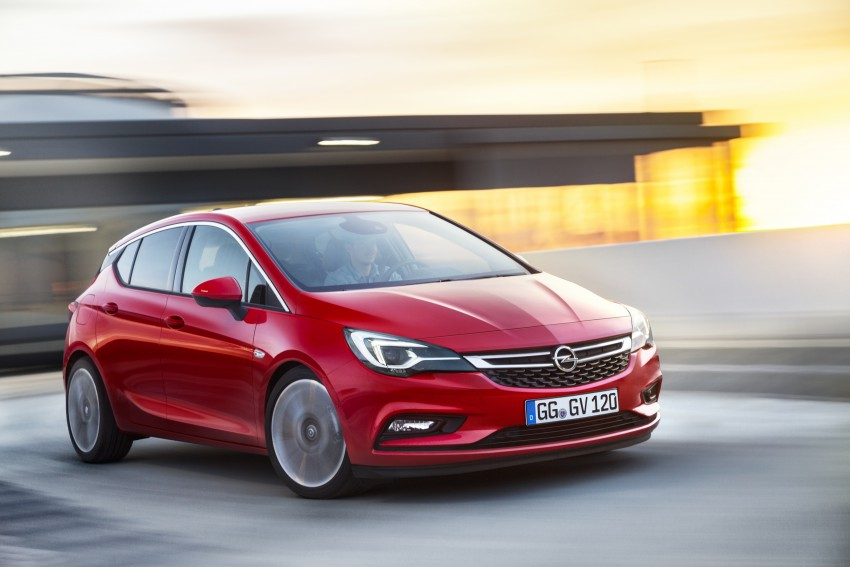Opel/Vauxhall Astra K unveiled – up to 200 kg lighter Image #345291