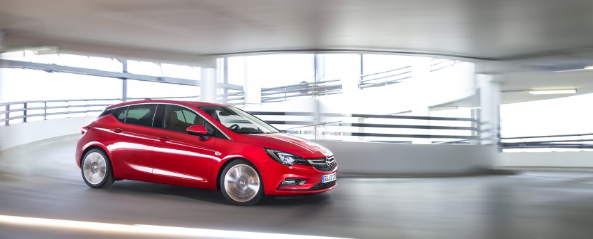 Opel/Vauxhall Astra K unveiled – up to 200 kg lighter Image #345292