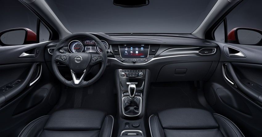 Opel/Vauxhall Astra K unveiled – up to 200 kg lighter Image #345293