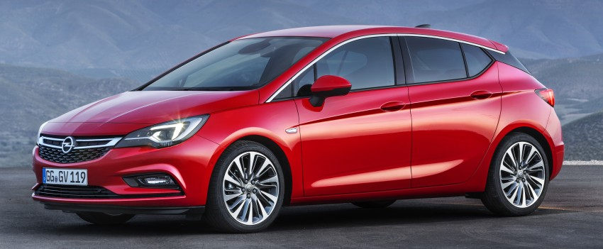 Opel/Vauxhall Astra K unveiled – up to 200 kg lighter Image #345295