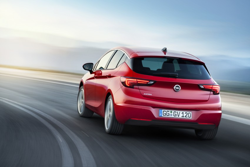 Opel/Vauxhall Astra K unveiled – up to 200 kg lighter Image #345296