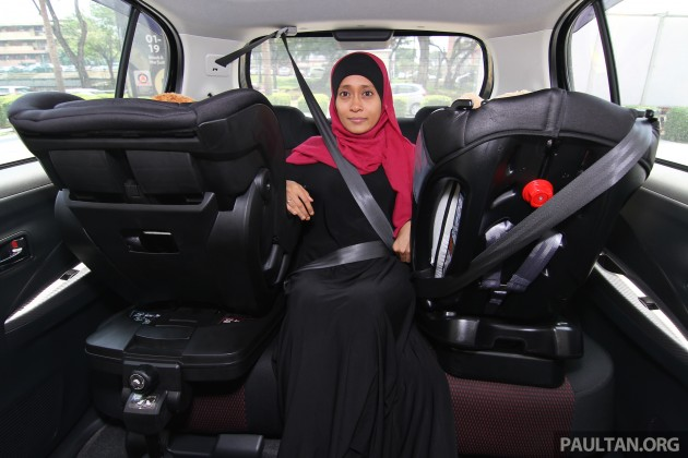 Get free child car seat rental from paultan.org this Raya season