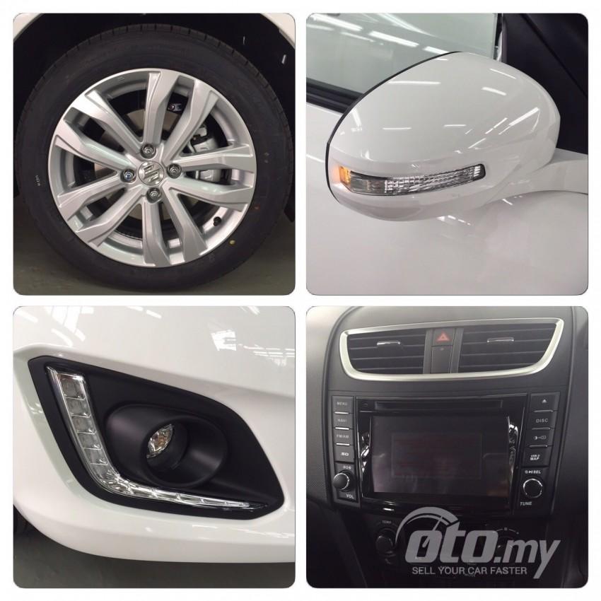 Suzuki Swift facelift found on <em>oto.my</em> – RM63k-RM73k? Image #347443