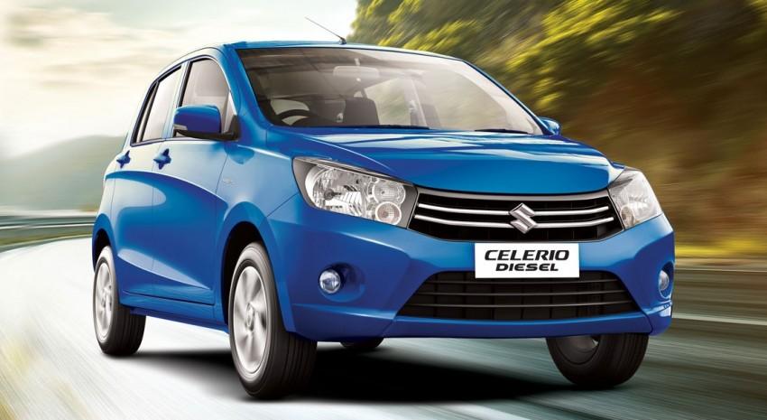Suzuki Celerio Diesel – two-cyl 0.8 litre E08A debuts Image #347027