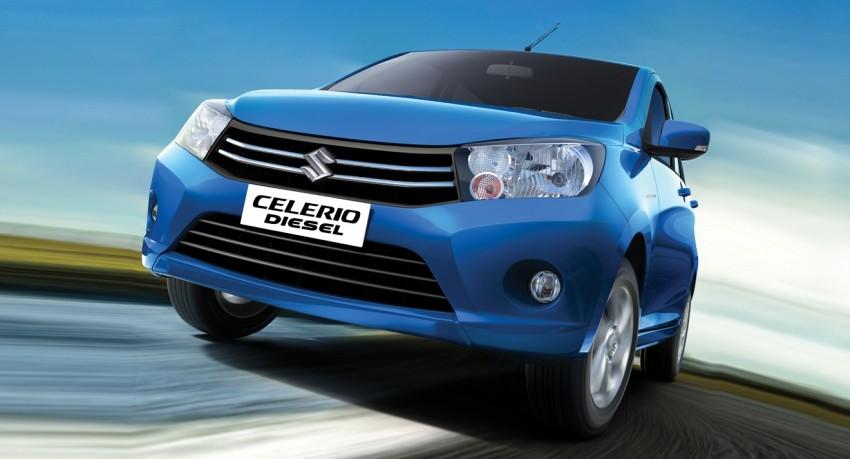 Suzuki Celerio Diesel – two-cyl 0.8 litre E08A debuts Image #347026