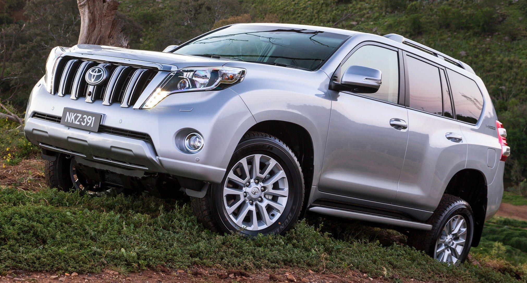 2016 Toyota Land Cruiser Prado To Feature All New 2 8