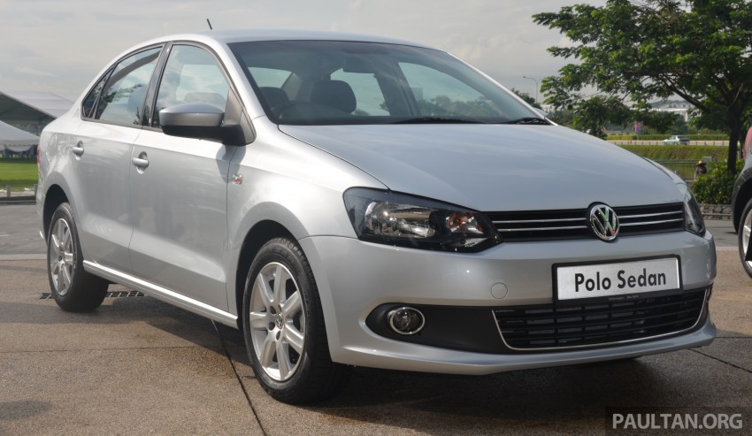 Volkswagen Polo 1.6 Sedan, Hatch CKD facelift previewed at Volkswagen Sales Carnival in Setia City Image #349686