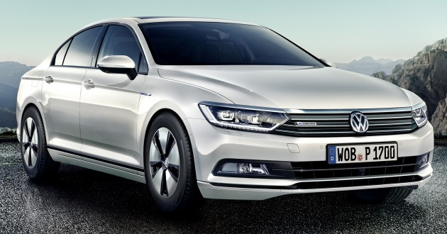 B8 Volkswagen Passat BlueMotion revealed - 32 4 km/l
