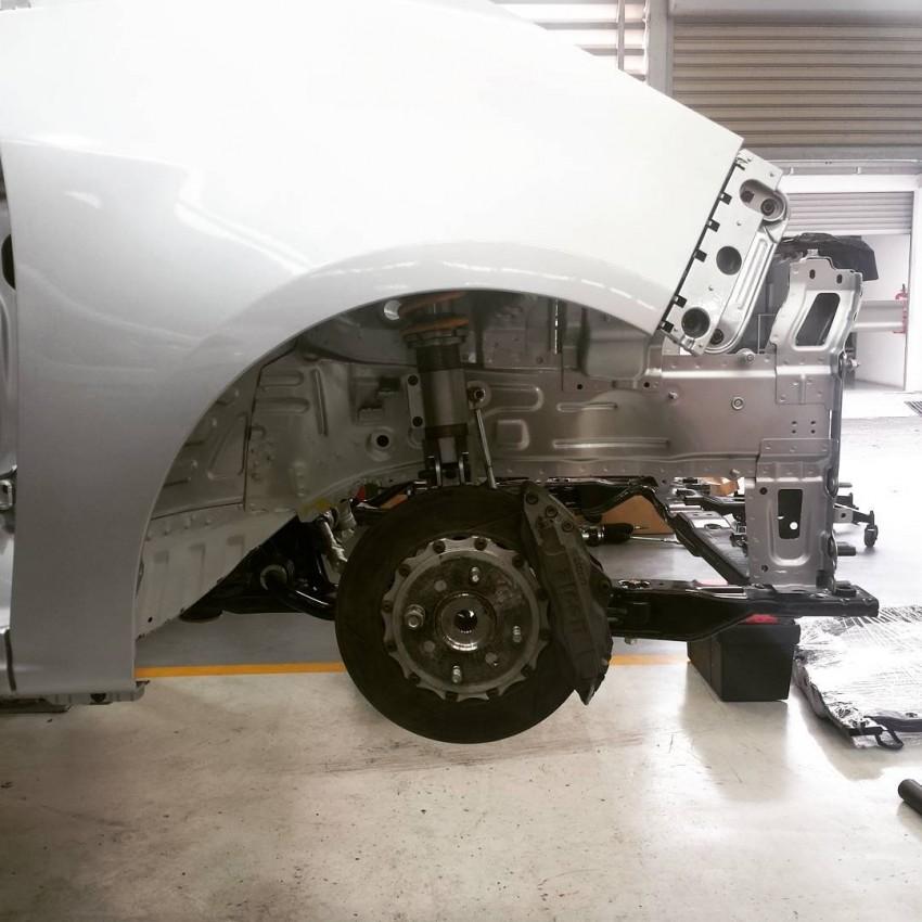 Proton Iriz R3 touring car in the making – 190 hp! Image #357492