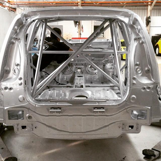 Proton Iriz R3 touring car in the making – 190 hp! Image #357491