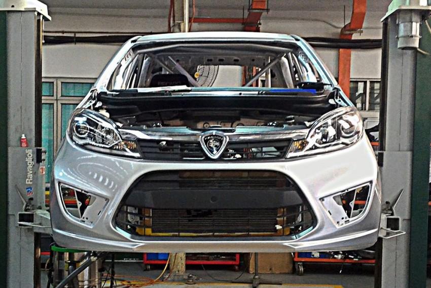 Proton Iriz R3 touring car teased again with interior Image #363185