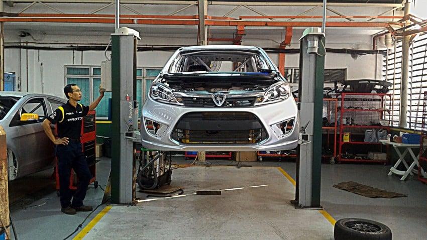 Proton Iriz R3 touring car teased again with interior Image #363234