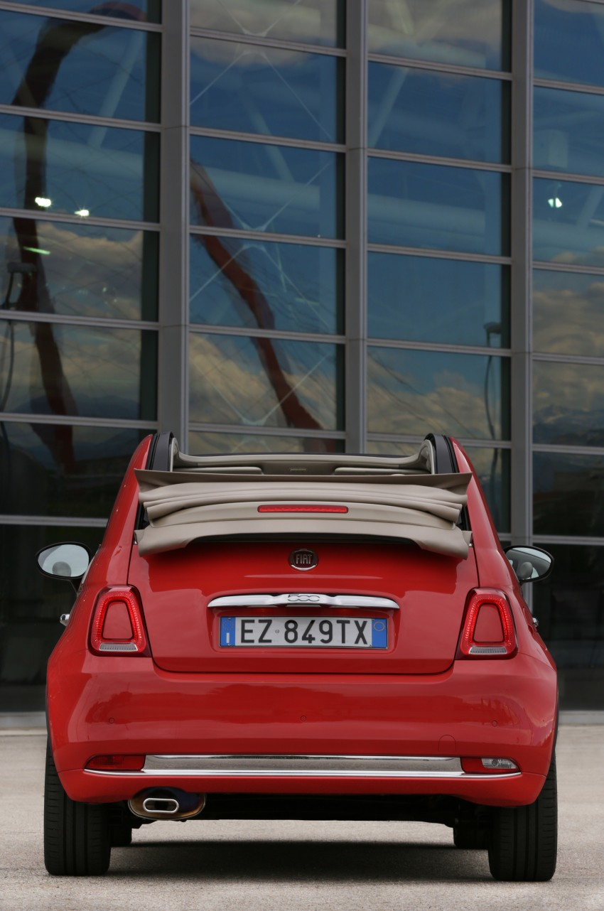 2016 Fiat 500 revealed: major updates for retro city car Image #356869