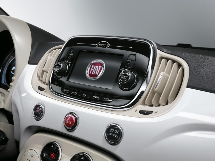 2016 Fiat 500 revealed: major updates for retro city car Image #356890