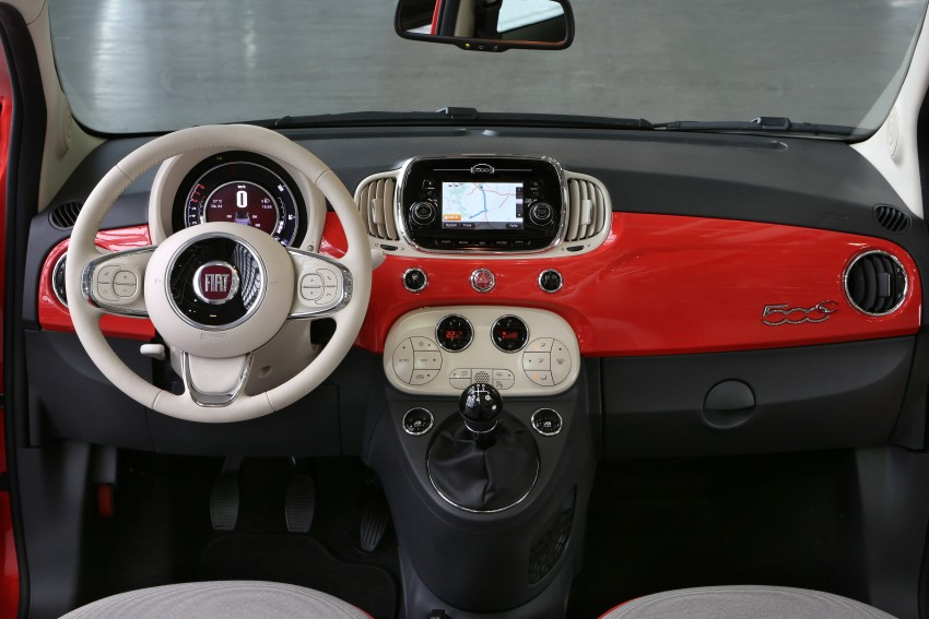 2016 Fiat 500 revealed: major updates for retro city car Image #356892