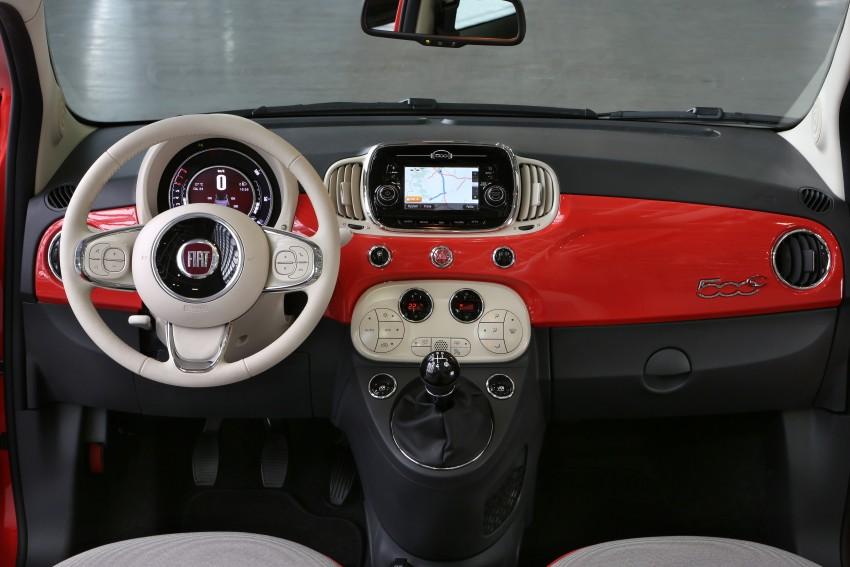 2016 Fiat 500 revealed: major updates for retro city car Image #356892