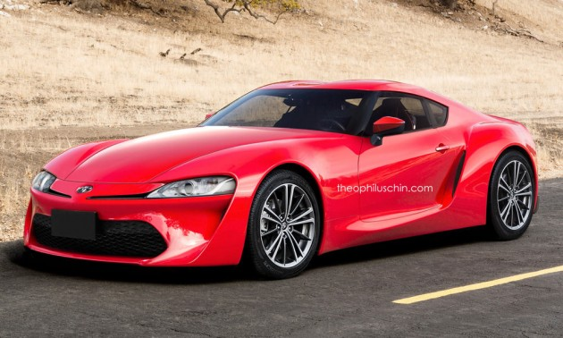 Toyota Supra replacement rendered, based on FT-1