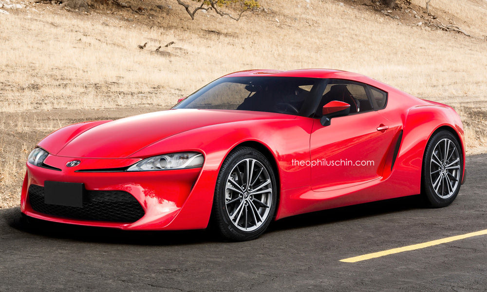 Toyota Supra replacement rendered, based on FT-1 Image 361002