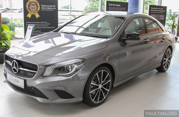 2015 Mercedes-Benz CLA 200 – interior updates, same price