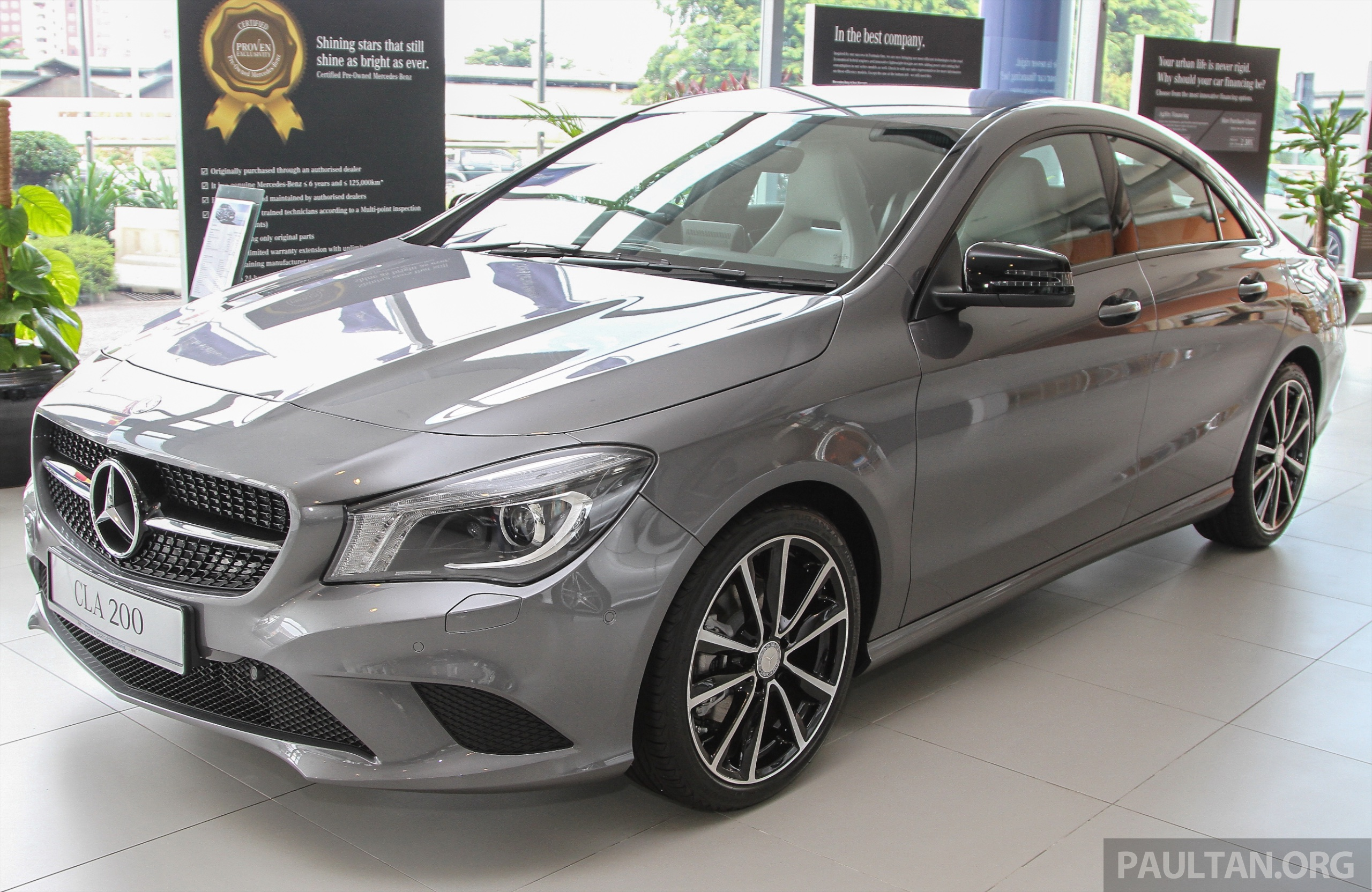 Mercedes benz malaysia issues recall for cla class for Mercedes benz malaysia