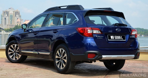 DRIVEN: Subaru Outback 2 5i-S - a Legacy on stilts?