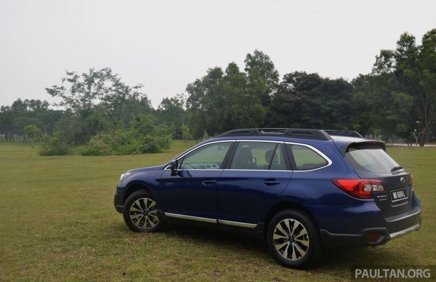 Back to Story: DRIVEN: Subaru Outback 2.5i-S – a Legacy on stilts?