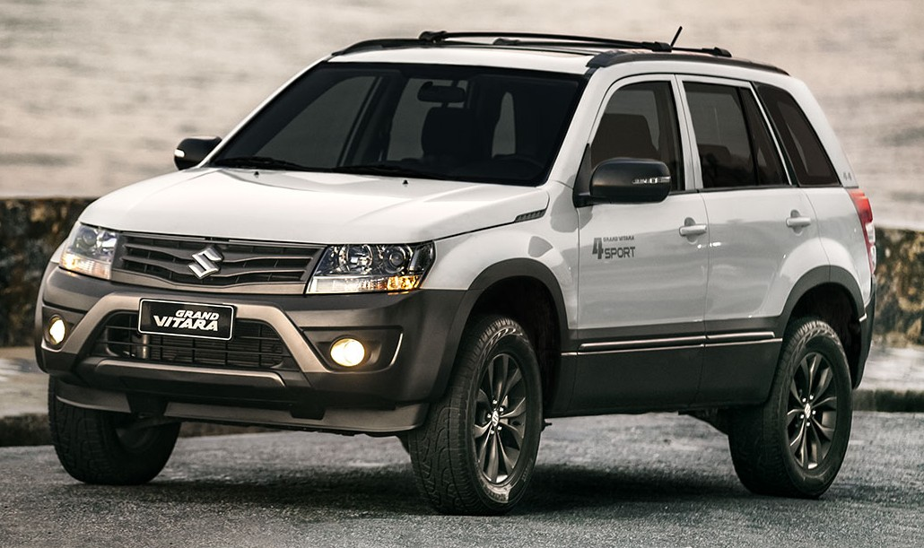 2015 suzuki grand vitara 4sport launched in brazil. Black Bedroom Furniture Sets. Home Design Ideas
