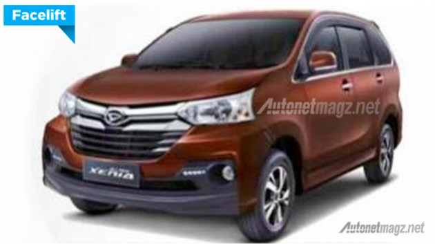 2016 Daihatsu Xenia - rebadged Avanza updated too