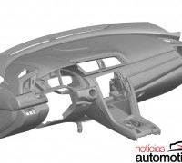 2016 Honda Civic dash patent-03