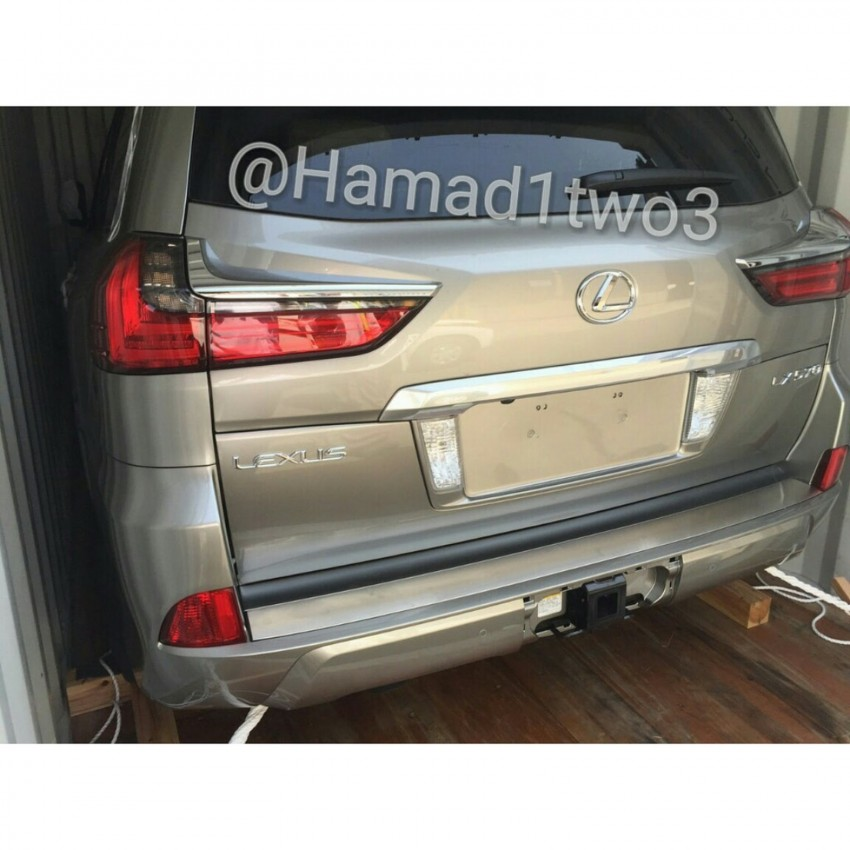 2016 Lexus LX spotted again, this time in the metal Image #362173