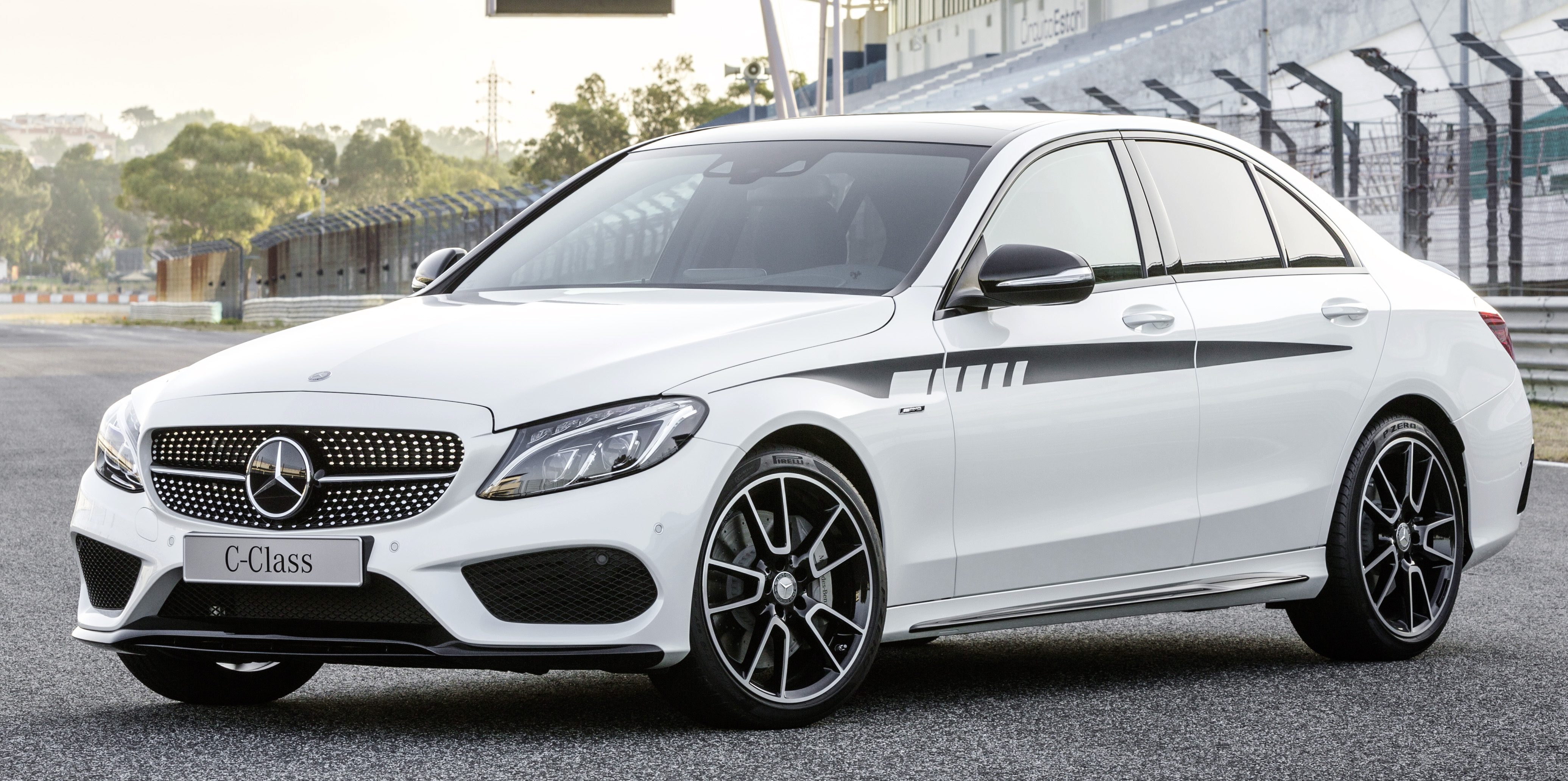 New amg accessories now available for w205 c class for Mercedes benz upgrades