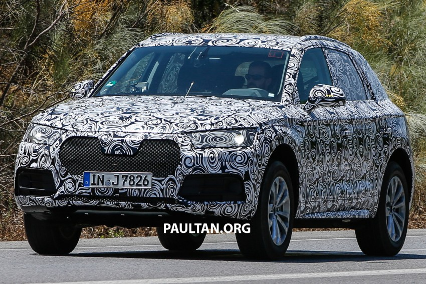 SPYSHOTS: Audi Q5 – next-gen crossover spotted Image #360679