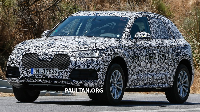 SPYSHOTS: Audi Q5 – next-gen crossover spotted Image #360680
