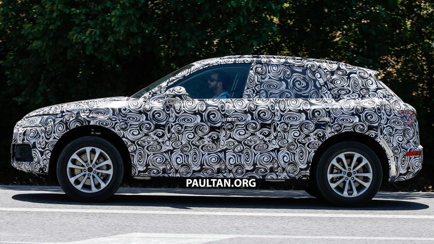 SPYSHOTS: Audi Q5 – next-gen crossover spotted Image #360683