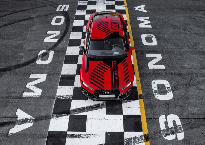 Audi RS7 piloted driving concept now better, lighter – tech to premiere in the next-generation Audi A8 Image #359086