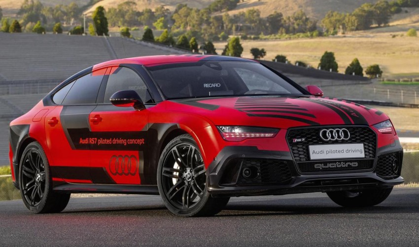Audi RS7 piloted driving concept now better, lighter – tech to premiere in the next-generation Audi A8 Image #358946