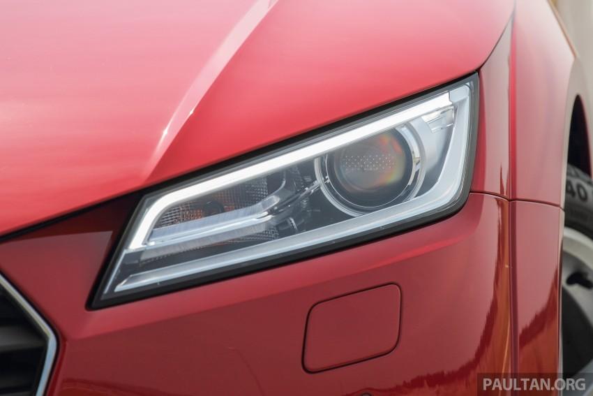 Gallery 2016 Audi Tt 2 0 Tfsi Up Close In Malaysia Paul