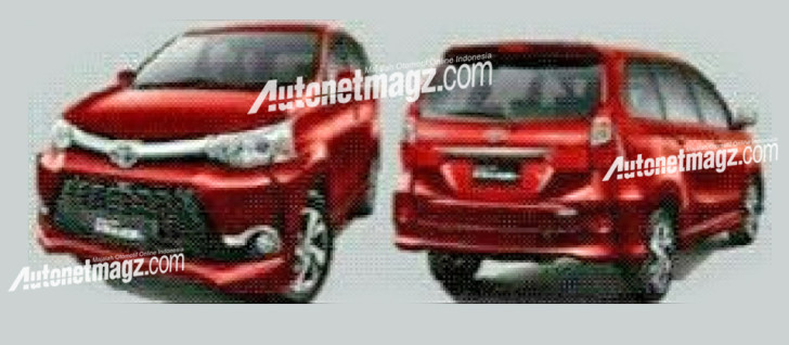 Toyota Avanza facelift: new interior, exterior pix leaked Image #360973