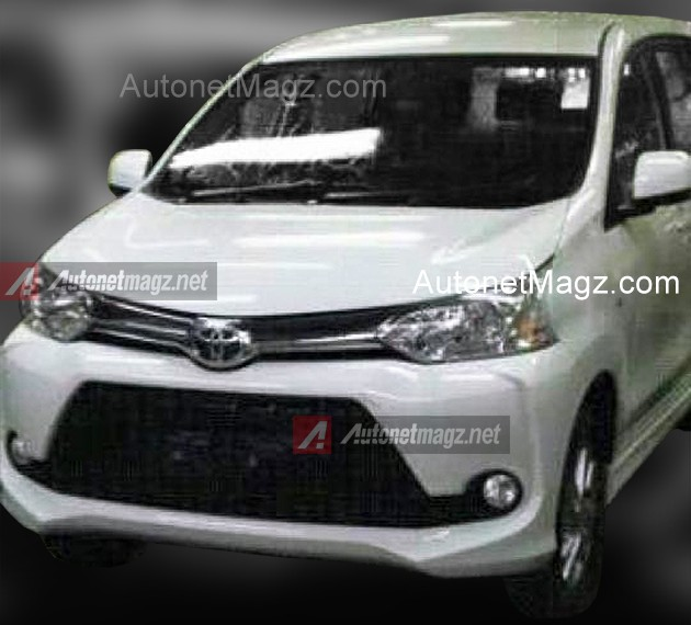 2016 Toyota Avanza Facelift Leaked Alternate Front End